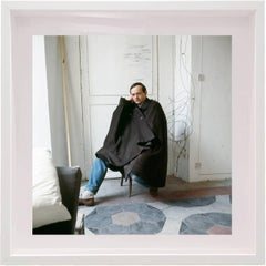 Untitled #20 Cy Twombly in Rome- Color Portrait Photograph