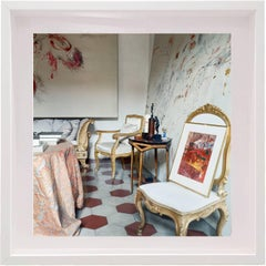 Untitled #22 Cy Twombly in Rome- Color Photograph