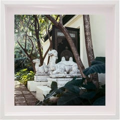 Untitled #4 Doris Duke, Shangri La, Small Framed Color Photograph
