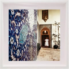Untitled #9 Doris Duke, Shangri La, Small Framed Color Photograph