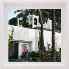 Untitled #10 Doris Duke, Shangri La, Small Framed Color Photograph