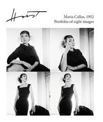 Maria Callas, 1952, Portfolio of eight archival pigment prints
