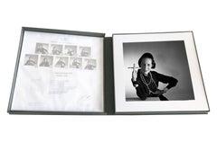 Diana Vreeland Portfolio- 9 archival pigment prints matted in embossed box