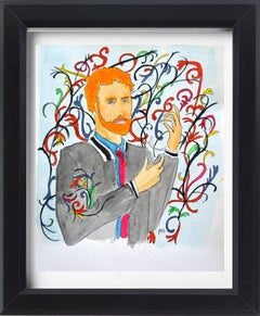 Prince Harry as Kehinde Wiley