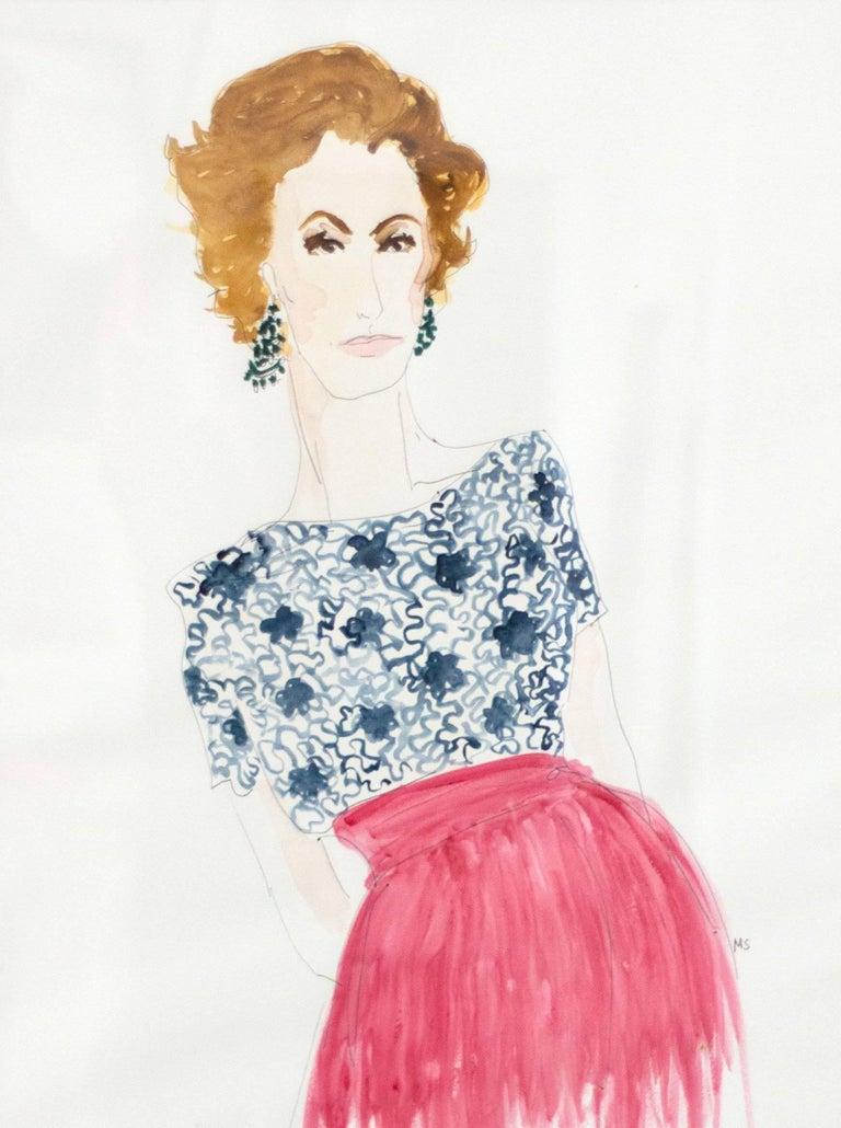 Duchess of Feria Nati Abascal in Valentino