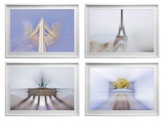 Architectural Quadriptych- Color Photograph on semi-luster photo paper