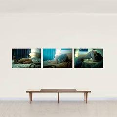 Hotel Bondi #3, #4 & #5- Limited Edition Nude Portrait Color Photograph-Triptych