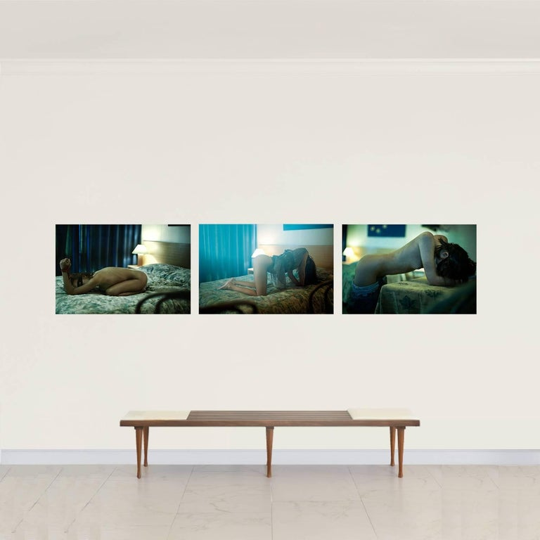 Hotel Bondi #3, #4 & #5 - Triptych 24 in. H x 36 in. W (each) Archival Pigment Print 2012 ________________ Hotel Bondi is a series by photographer David Jay exclusive to Art Design Project. Jay's photography has been exhibited at galleries and