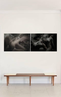 Half Angels Half Demons #38 and #39 Diptych, Small Archival Pigment Print