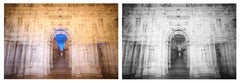 Teatro Olimpico Diptych Abstract Architectural Photograph