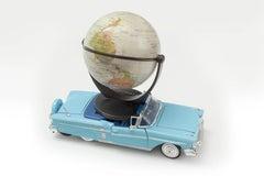 'World Car' Castelloland- Contemporary Color Photograph