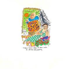 Mickalene & Kehinde, watercolor