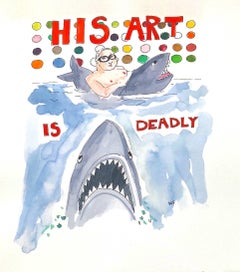 His Art is Deadly - Damien Hirst