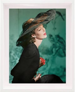 Loretta Young, New York, 1941 Color Photograph