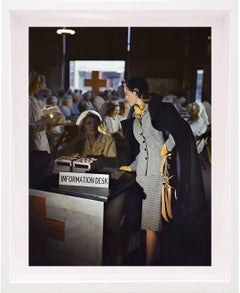 Suit and Coat by Handmacher, 1943 Color Photograph
