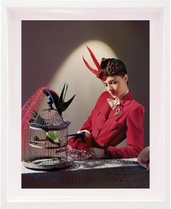Ensemble by Bergdorf Goodman, Jewellery by Cartier, 1939 Color Photograph