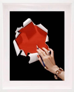 Horst P. Horst - American Vogue Cover 15 June 1942, Jewellery by Cartier Color Photograph