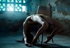 """Naomi"", Large Nude Portrait Color Photograph, 2010"