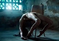"""Naomi"", Small Nude Portrait Color Photograph, 2010"