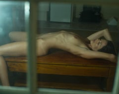 """Hotel Bondi #1"" - Limited Edition Small Nude Portrait Color Photograph"