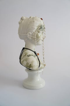 """Untitled #10"" from ''Los Infortunios de la Virtud'' series, Antique Bust"