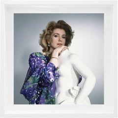 French Actress Catherine Deneuve, 1985, Framed Archival Pigment Print