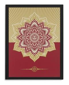 Mandala Holiday, Offset Poster, 2013