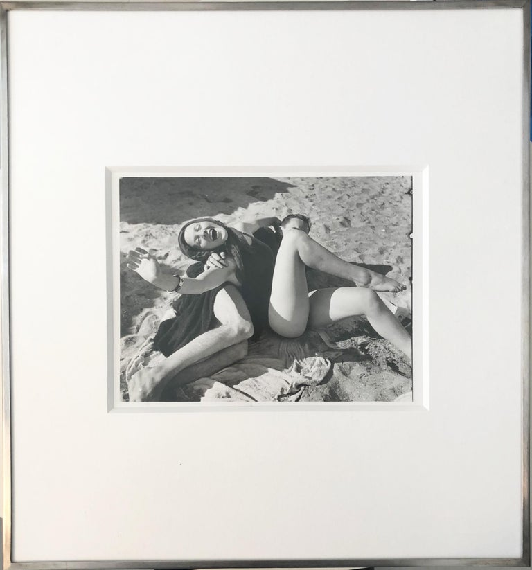 Untitled (Couple at the Beach)