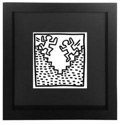 Untitled from the  'Tony Shafrazi' Portfolio, Framed Lithograph, 1982