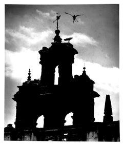 Untitled (Church Spire, Seville), Silver Gelatin Print, circa 1930