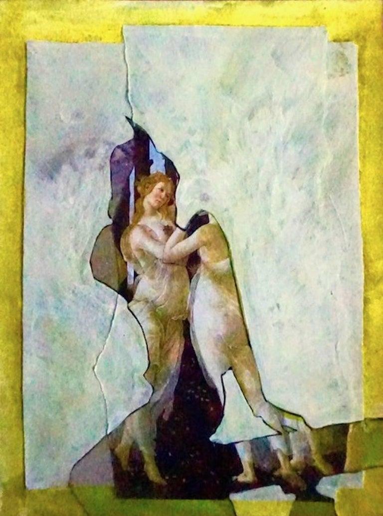Botichelli Sleeve, #2251, Collage on paper, 2018