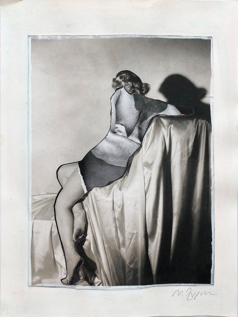 Hermafrodite, #2261, Collage on paper, 2018