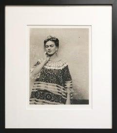 Frida Kahlo, Coyoacán, Mexico, 1943, Digital Print, Artist Proof, Printed 1997