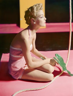 Jean Patchett, Bathing Suit by Brigance, 1951, Small Archival Pigment Print
