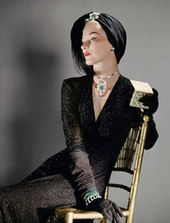 Lisa Fonssagrives, Large Color Portrait Photograph