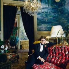 Untitled #5 Yves Saint Laurent Normandie, Large Color Photograph
