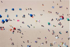 """Beach II"", Medium Aerial Photograph, 2015"