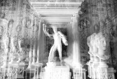 Villa Borghese, Rome, Large Black and White Photograph, 2015