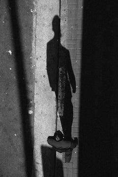 Shadow, São Paulo, Small Black and White Photograph, 2010