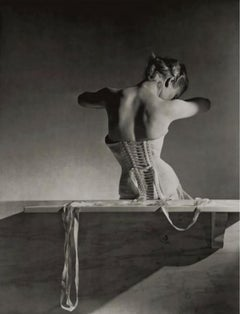 """Mainbocher Corset, 1939"", Archival Pigment Print on Hahnemuehle Bamboo Paper"