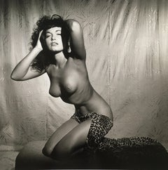 """Bettie Page Topless in Studio"", 1954"