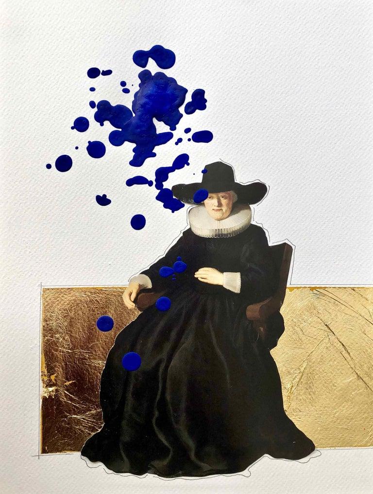 """Armando de la Garza Figurative Painting - """"2.3"""" from the series """"La Transvaloración de todos los valores"""""""