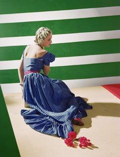 """Dress by Hattie Carnegie, 1939"", Color Photograph"