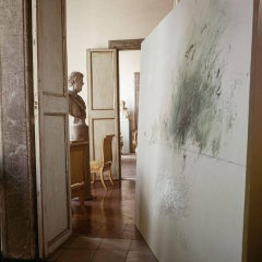 Cy Twombly in Rome 1966 - Untitled #13