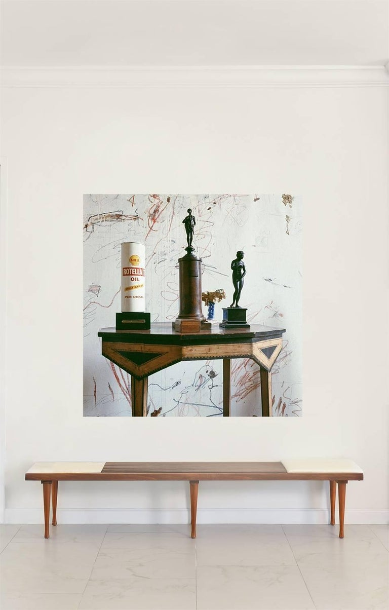 Cy Twombly in Rome - 1966, Untitled #21 For Sale 1