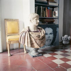 """""""Cy Twombly in Rome, 1966, Untitled 29"""" Color Photograph"""