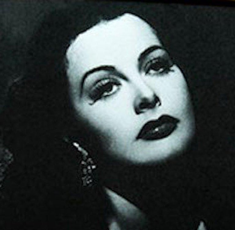 Hedy Lamarr, Contemporary Color Photograph (large Size), 2018 For Sale 4
