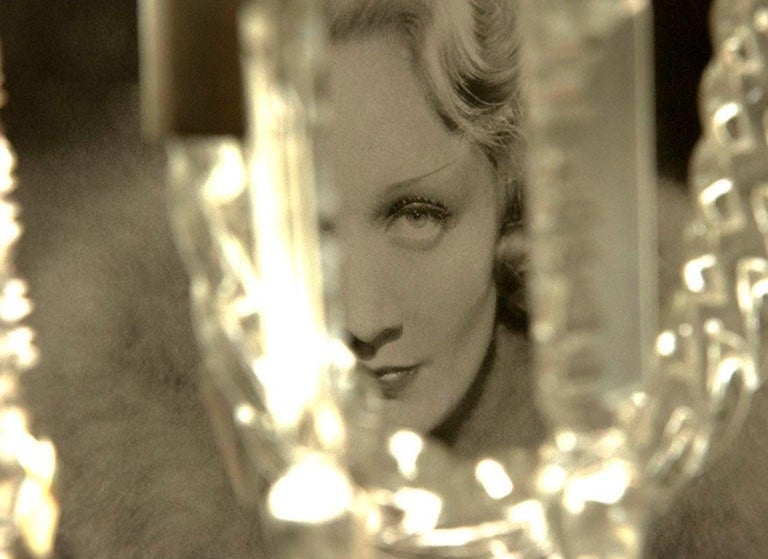 Marlene Dietrich, Contemporary Color Photograph (Large Size), 2018 For Sale 1