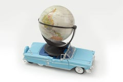 'World Car' Castelloland- Contemporary Color Photograph