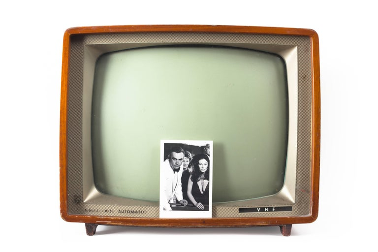 'Bond TV' Castelloland- Contemporary Color Photograph For Sale 1